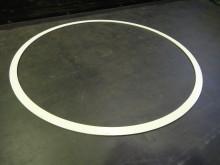 溶射用治具シリコンゴム焼付品3