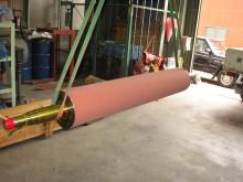 ホットメルト塗布用ゴムローラー2
